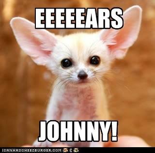 EEEEEARS JOHNNY!