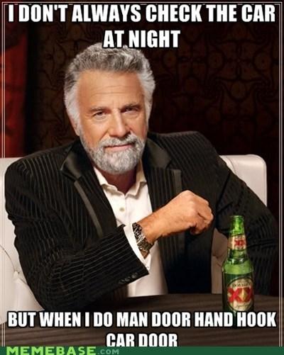 Man door hand hook car door....