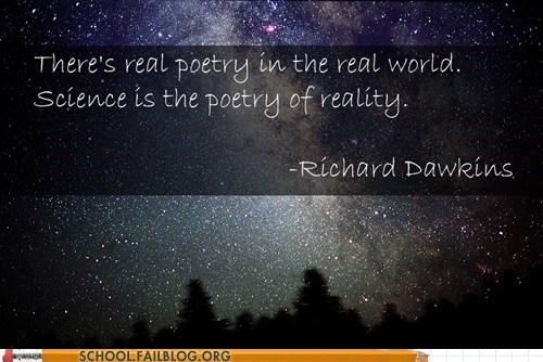 poetry of reality,richard dawkins,Words Of Wisdom