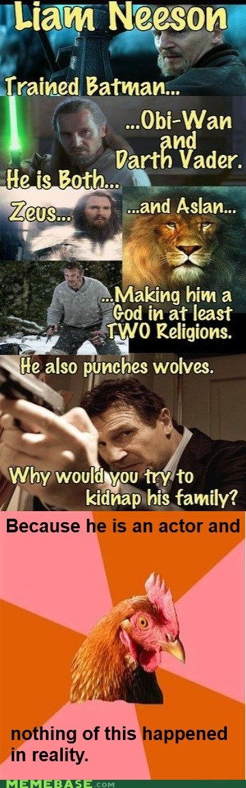 Anti-Joke Chicke anti joke chicken batman family kill liam neeson religions - 6371429888