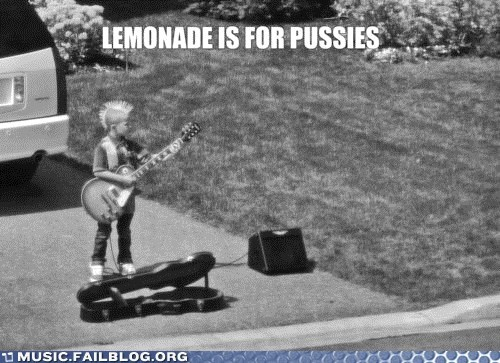child children lemonade punk rock stand - 6371742720