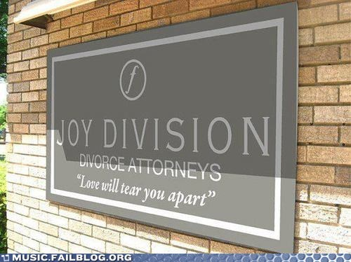 attorneys divorce joy division love will tear us apart sign