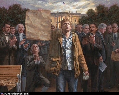 art constitution Jon McNaughton political pictures