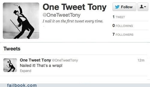 one tweet tony,tweet,twitter