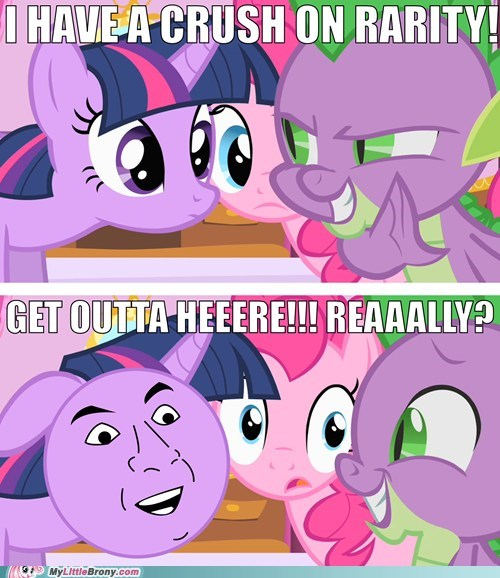 meme,spike,whisper,you dont say