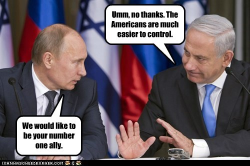 We would like to be your number one ally. Umm, no thanks. The Americans are much easier to control.