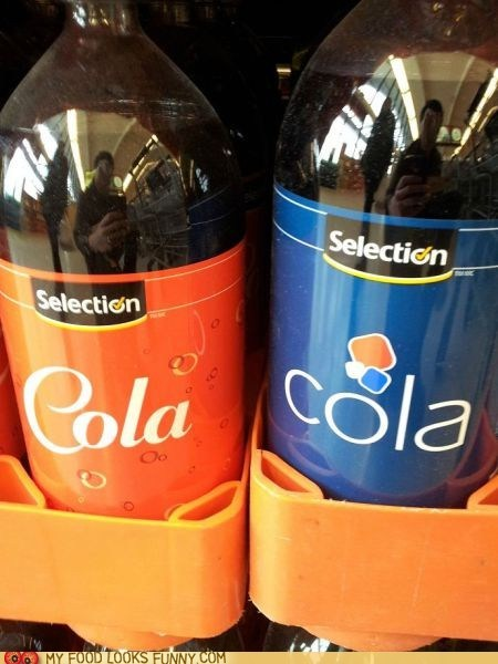 cola generic labels selection soda