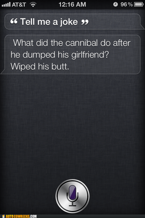 immature,jokes,regressed,siri