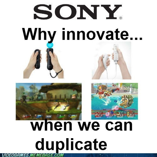 copy innovation nintendo playstation Sony trololololol