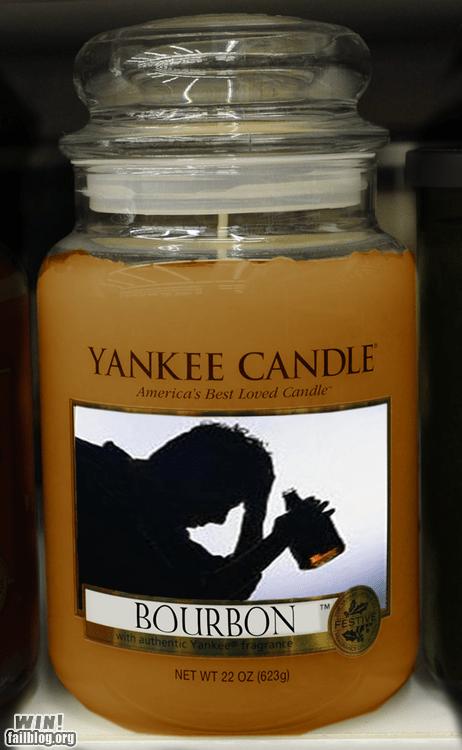 america bourbon candle merica - 6372381696