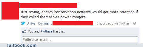 conservation,power rangers