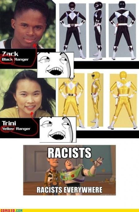 power rangers racism Ruined Childhood TV x x everywhere - 6372664320
