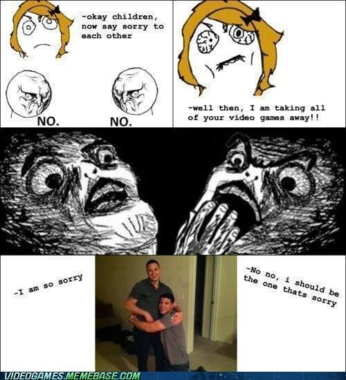 punishment rage comic sorry mom video games - 6372723712
