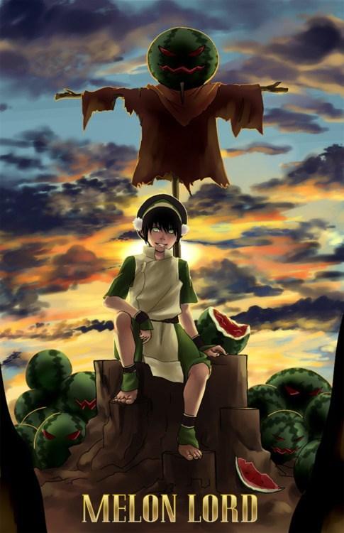 Avatar the Last Airbender avatar-the-last-airbende cartoons Fan Art melon lord toph - 6372758528
