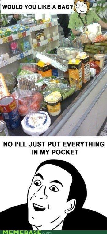 bad groceries Memes shopping you dont say - 6372823552
