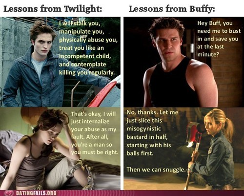 angel,bella,Buffy,Buffy the Vampire Slayer,edward,female role models,twilight
