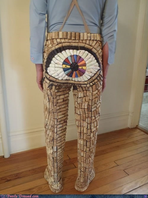 cork eyeball pants wine - 6372912896