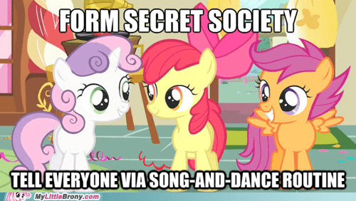 cmc logic meme secret society Song And Dance