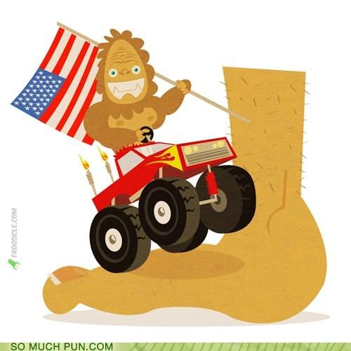 big bigfoot foot literalism Xzibit yo dawg - 6373514496