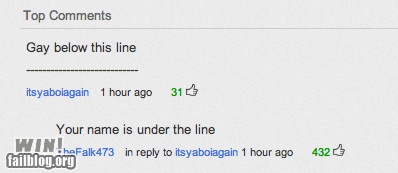 burn,clever,comments,joke,whoops,youtube