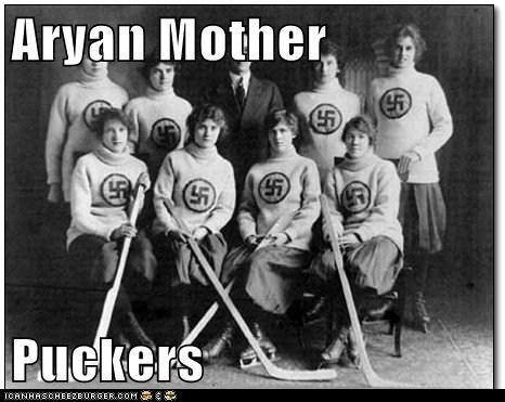 Aryan Mother Puckers