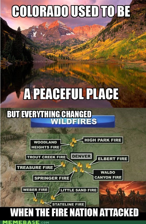 Avatar Colorado fire nation last airbender Memes - 6373904896