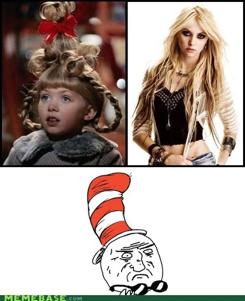 cindy-lou who dr seuss he will never ha he will never have a girlfriend mother of god
