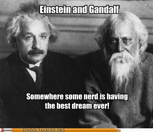 gandalf science albert einstein funny - 6374017024