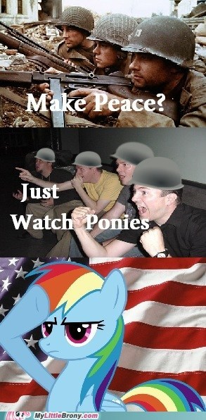 comics love and tolerate peace rainbow dash war - 6374079488