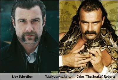 actor,celeb,funny,Hall of Fame,jake the snake roberts,liev schreiber,TLL,wrestling