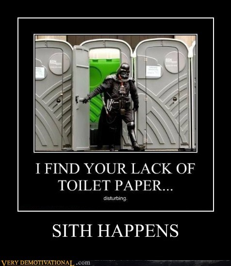 darth vader hilarious sith toilet paper - 6374166528
