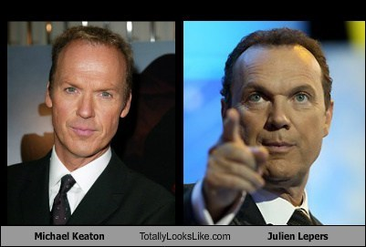 actor celeb funny julien lepers Michael Keaton TLL