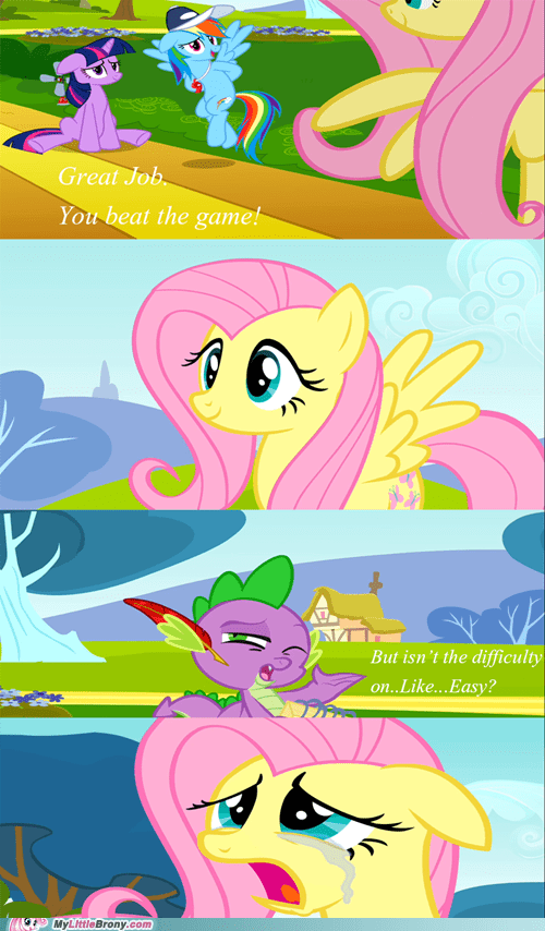 comic comics easy fluttershy spike the game - 6374743808
