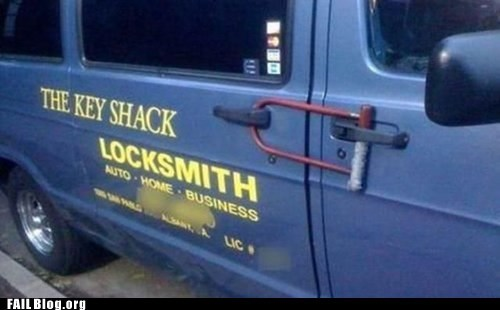 door locks locksmith truck