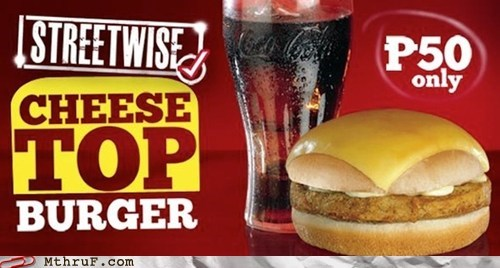 cheese top burger,g rated,kfc,kfc philippines,monday thru friday,philippines,streetwise cheese top bur,streetwise cheese top burger