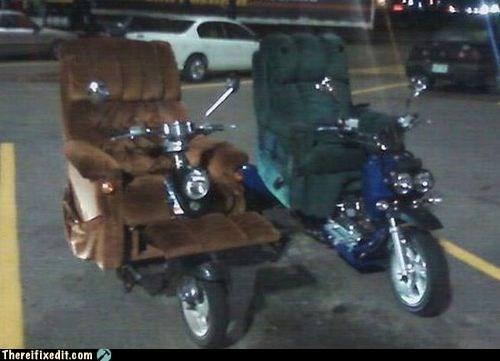 lay-z-bike lazy boy motorcycle - 6375209984