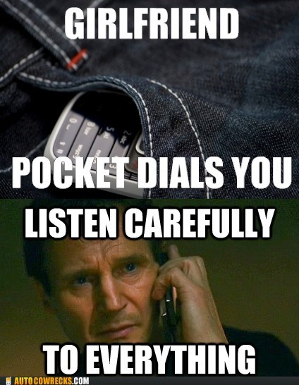 eavesdropping liam neeson listening in pocket dialed taken - 6375245056