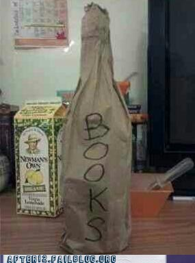 books,brown baggin it