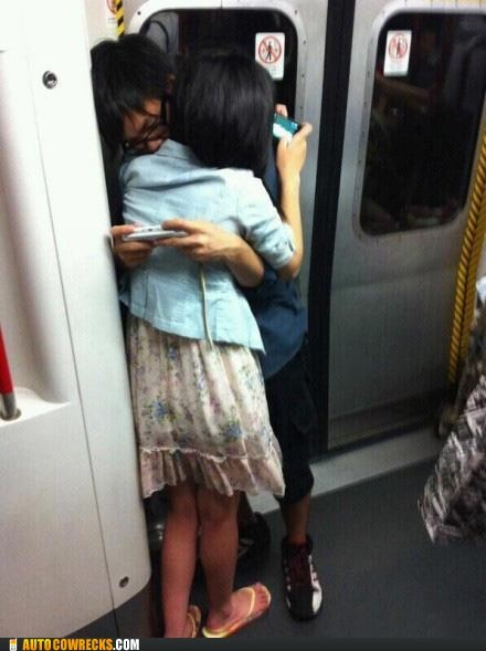 kids these days,modern relationships,new generation,phone hug