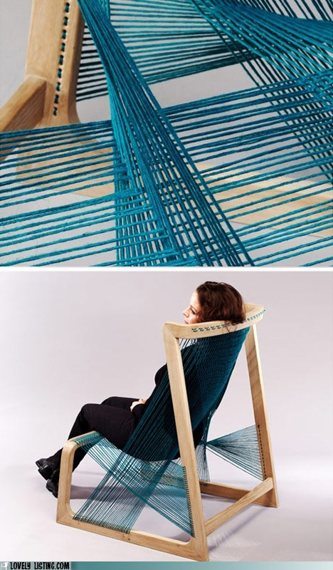 chair spiderwebs strings woven - 6375420416