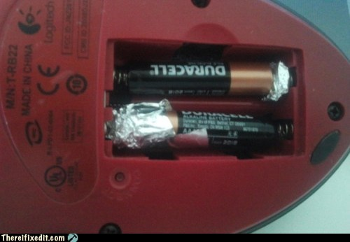 aa batteries aluminum batteries foil tin foil