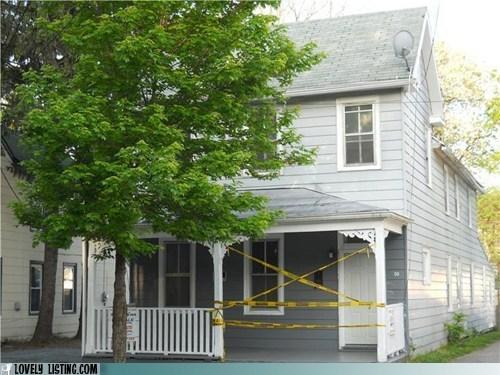 crime scene police tape porch - 6375485696