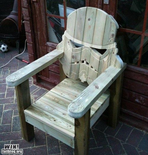 chair,design,nerdgasm,star wars,stormtrooper