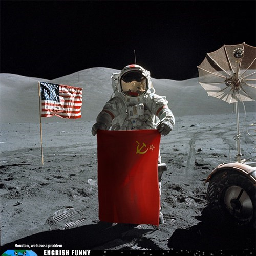 astronauts China chinese houston we have a problem moon landing neil armstrong - 6375663872