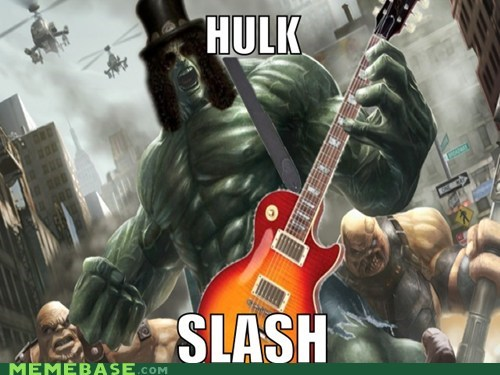 GNR hulk slash smash Super-Lols