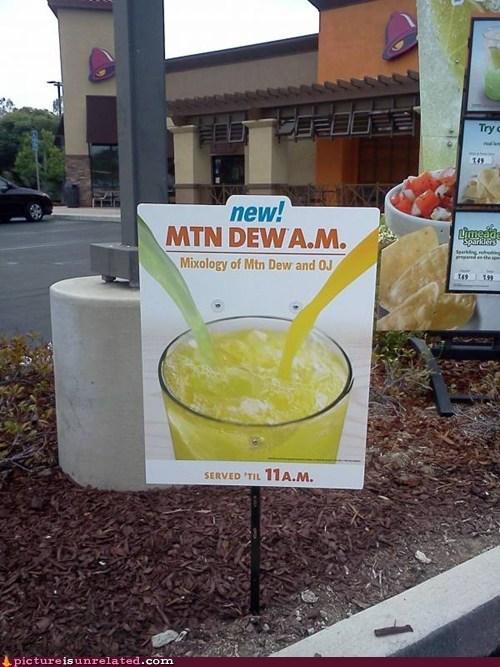 taco bell,mimosas,rednecks