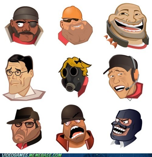 i lied me gusta rage faces spraypaint Team Fortress 2 the internets - 6375888640
