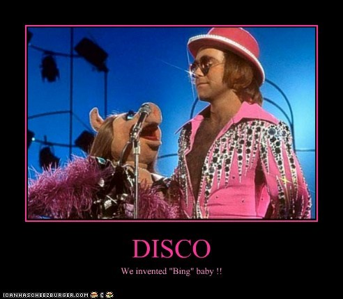 """DISCO We invented """"Bing"""" baby !!"""