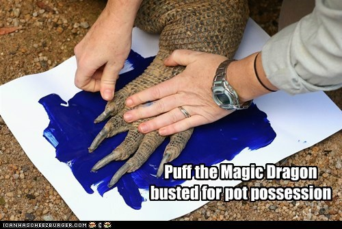 marijuana political pictures puff the magic dragon - 6376118016