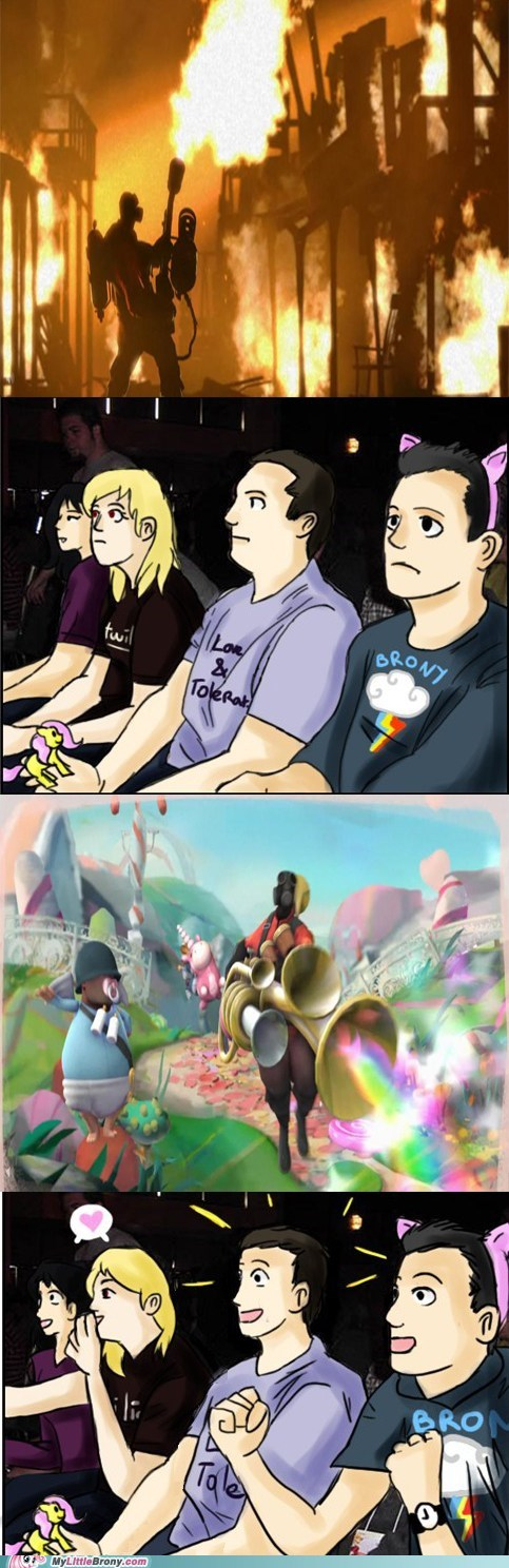 comics pyro reaction guys Team Fortress 2 video games - 6376189696